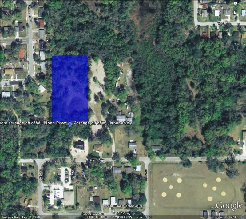 2 Acre acreage off of W Lisbon Pkwy