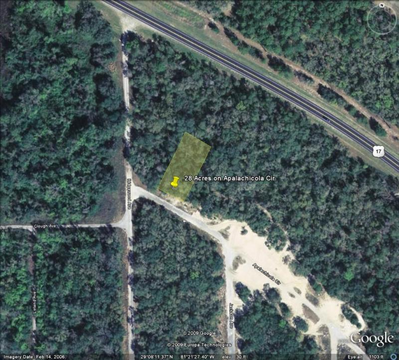 Islands For Sale - DeLeon Springs Lots, By Owner Financing